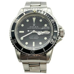 Vintage Rolex Submariner 1680 Stainless Steel 1973 Unpolished Matte Dial Mint