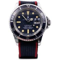 Vintage Rolex Submariner 1680 Stainless Steel 1978 Unpolished