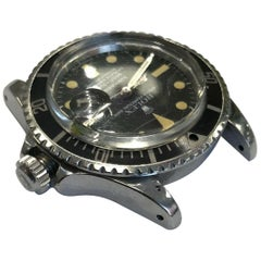 Vintage Rolex Submariner 1680 Stainless Steel 1978 Unpolished
