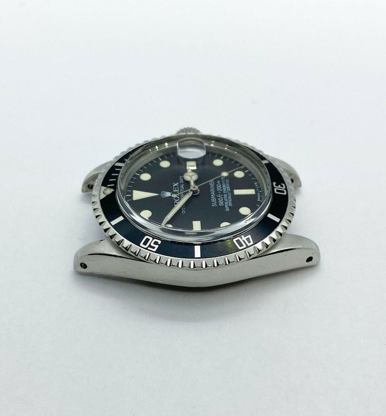 Vintage Rolex Submariner 1680 Stainless Steel Original Mint Dial Hands 1967 For Sale 1