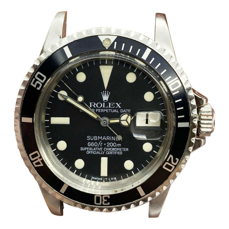 Vintage Rolex Submariner 1680 Stainless Steel Original Mint Dial Hands 1967 For Sale