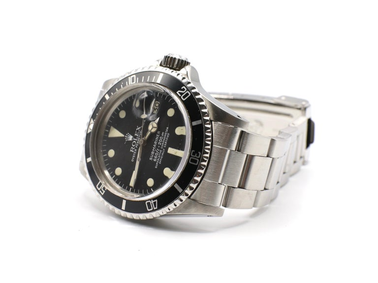 Vintage Rolex Submariner 1680 Stainless Steel Watch, circa 1979 For Sale 2