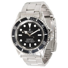 Vintage Rolex Submariner 5512/5513 Men's Watch in Stainless Steel