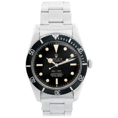 Vintage Rolex Submariner Men's Watch 5508