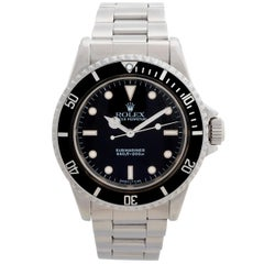 Vintage Rolex Submariner 'no date' Ref 5513. Box & Papers