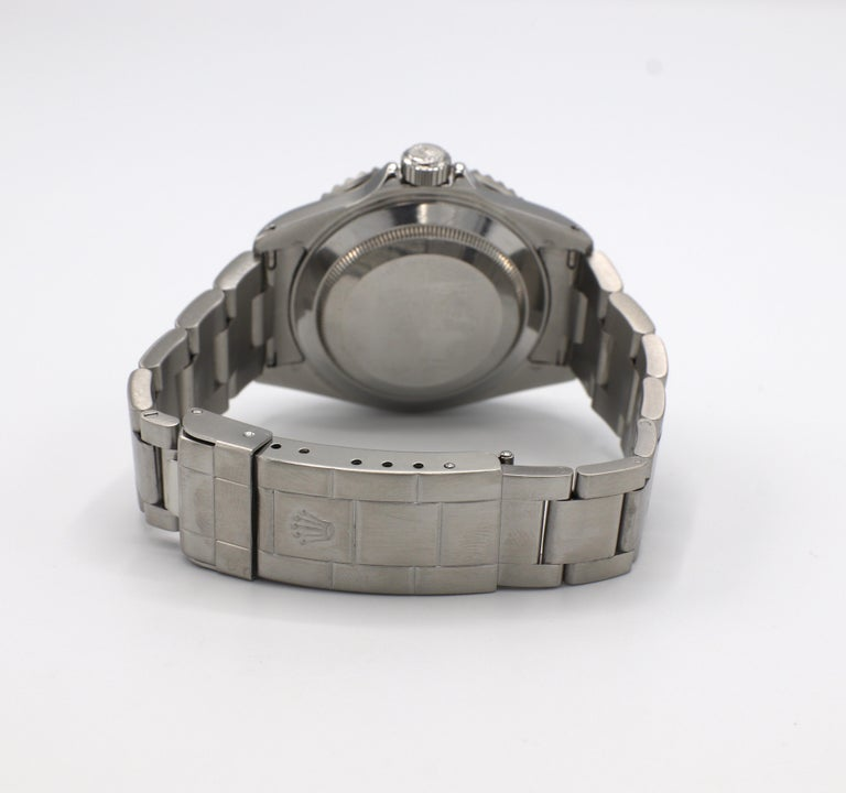 Vintage Rolex Submariner Stainless Steel Reference 16610 For Sale 2