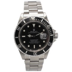 Vintage Rolex Submariner Stainless Steel Reference 16610