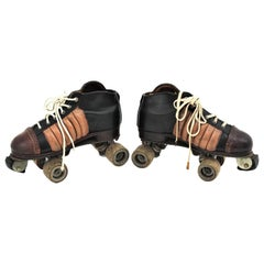 Vintage Roller Skates by Matollo, 1950s