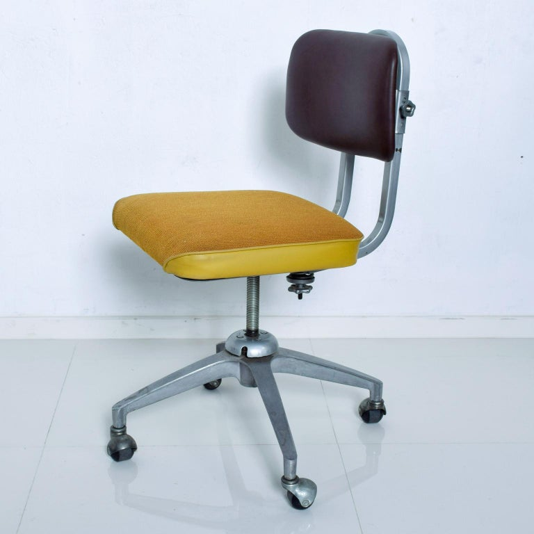 Vintage Rolling Industrial Cosco Tanker Office Desk Chair At 1stdibs