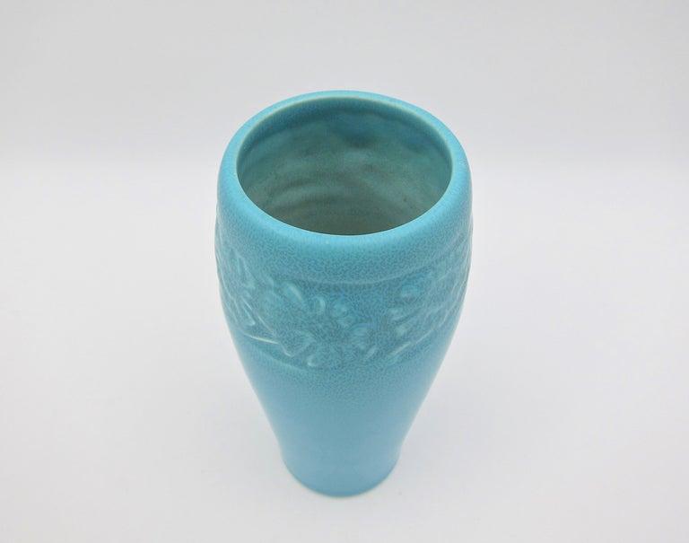 Vintage Rookwood Pottery Arts & Crafts Sunflower Vase, 1930 3