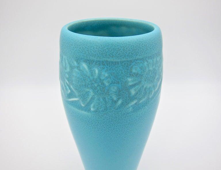 Vintage Rookwood Pottery Arts & Crafts Sunflower Vase, 1930 5