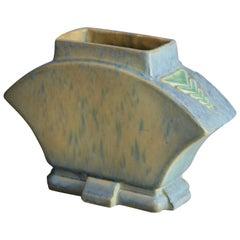 Vintage Roseville Futura Art Pottery Buttress Vase, Circa 1930