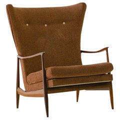 Vintage Rosewood Armchair by Móveis Cimo, 1950s, Brazilian Midcentury