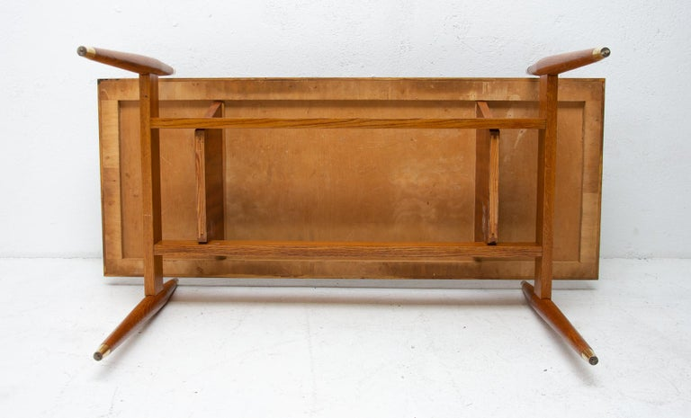 Vintage Rosewood Coffee Table from Czechoslovakia, 1970s For Sale 7