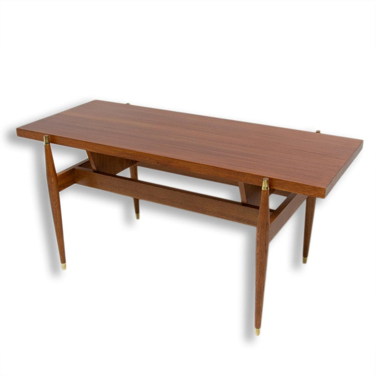 Vintage Rosewood Coffee Table from Czechoslovakia, 1970s In Excellent Condition For Sale In Prague 8, CZ