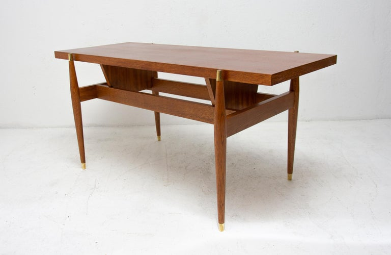 Vintage Rosewood Coffee Table from Czechoslovakia, 1970s For Sale 1