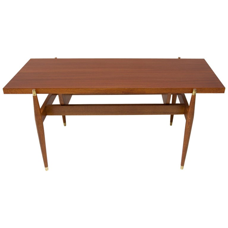 Vintage Rosewood Coffee Table from Czechoslovakia, 1970s For Sale