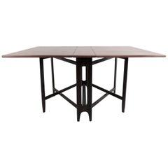 Vintage Rosewood Dropleaf Dining Table by Kleppe Mobelfabrik