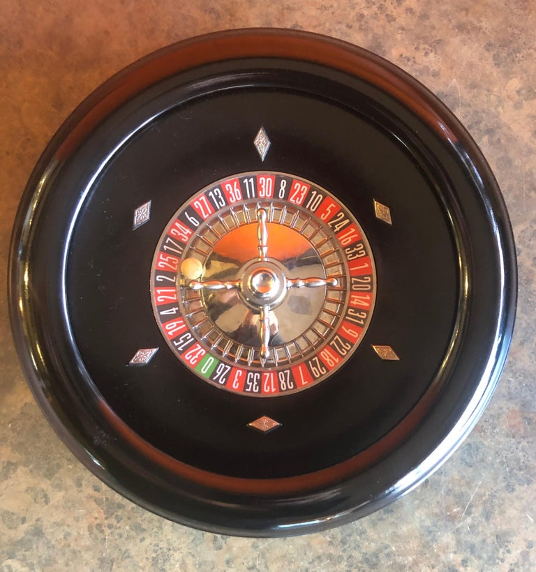 American Vintage Roulette Set in Case by Rottgames For Sale