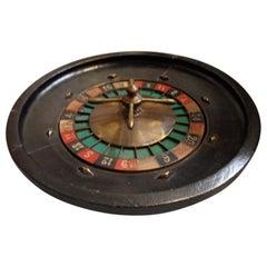 Vintage Roulette Spinning Wheel