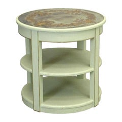 Vintage Round Side or End Decorative Lamp Table