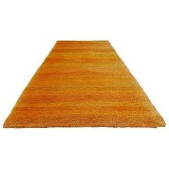 Vintage Rug Carpet Tapsitry Gamba Orange by Jan Kath Design