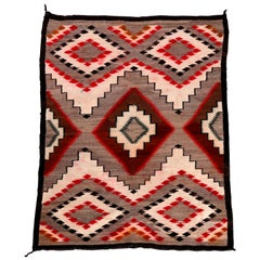Vintage Rug in the Manner of Ganado Navajo Weaving, 20th Century