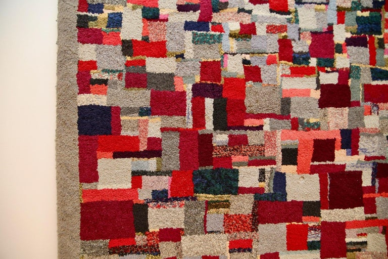 Vintage Rug Tapestry, 1957-1960 In Good Condition For Sale In St. Louis, MO