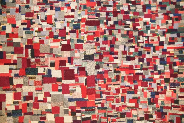 Mid-20th Century Vintage Rug Tapestry, 1957-1960 For Sale