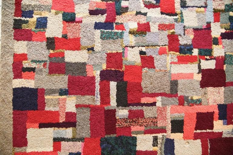 Vintage Rug Tapestry, 1957-1960 For Sale 1