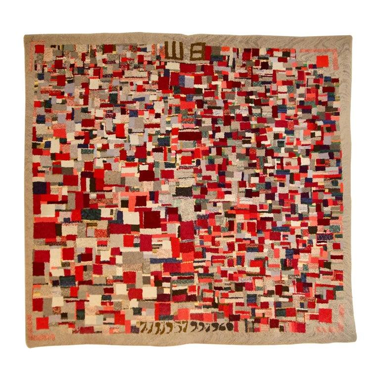 Vintage Rug Tapestry, 1957-1960 For Sale