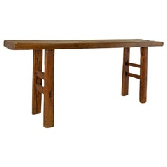 Vintage Rustic Console Table