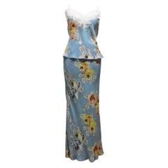 Vintage S/S 2001 John Galliano for Christian Dior Dress Set