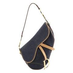 Vintage Saddle Bag Denim Medium