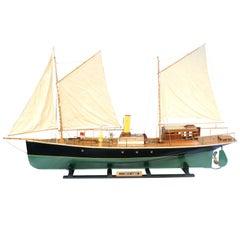 Vintage, Sailing Steam Boat, Yacht Model, Prince Albert Steam Yacht