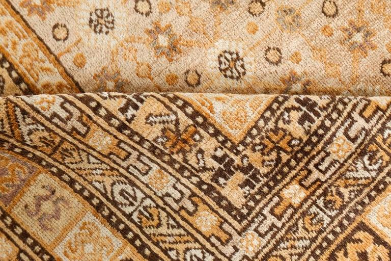 Vintage Samarkand (Khotan) rug Size: 7'0