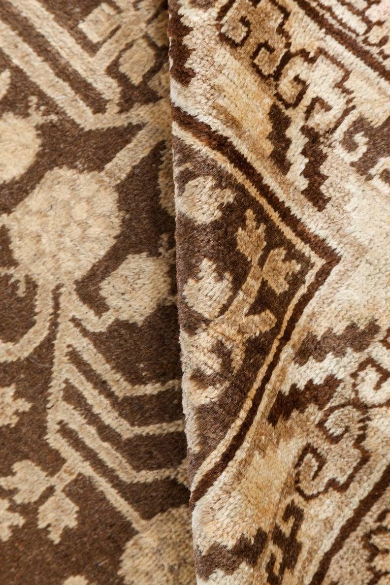 Vintage Samarkand 'Khotan' rug Size: 6'3
