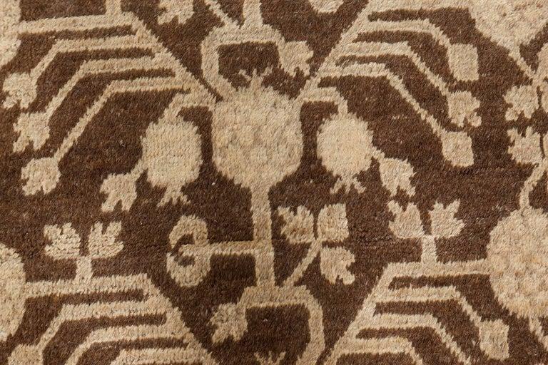 Uzbek Vintage Samarkand 'Khotan' Rug For Sale