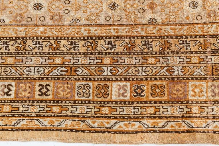 20th Century Vintage Samarkand 'Khotan' Rug For Sale