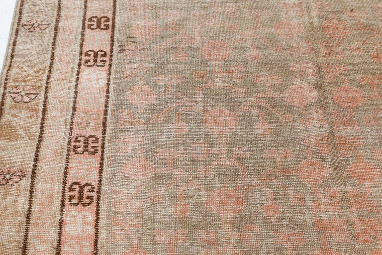 Wool Vintage Samarkand 'Khotan' Rug For Sale