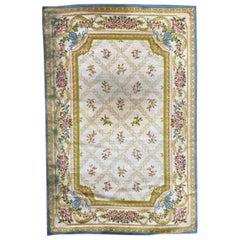 Vintage Savonnerie Style Carpet