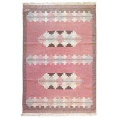 Vintage Scandinavian Kilim Rug, circa Mid-20th Century