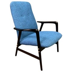 Vintage Scandinavian Mid-Century Modern Lounge Chair by Alf Svensson for Dux