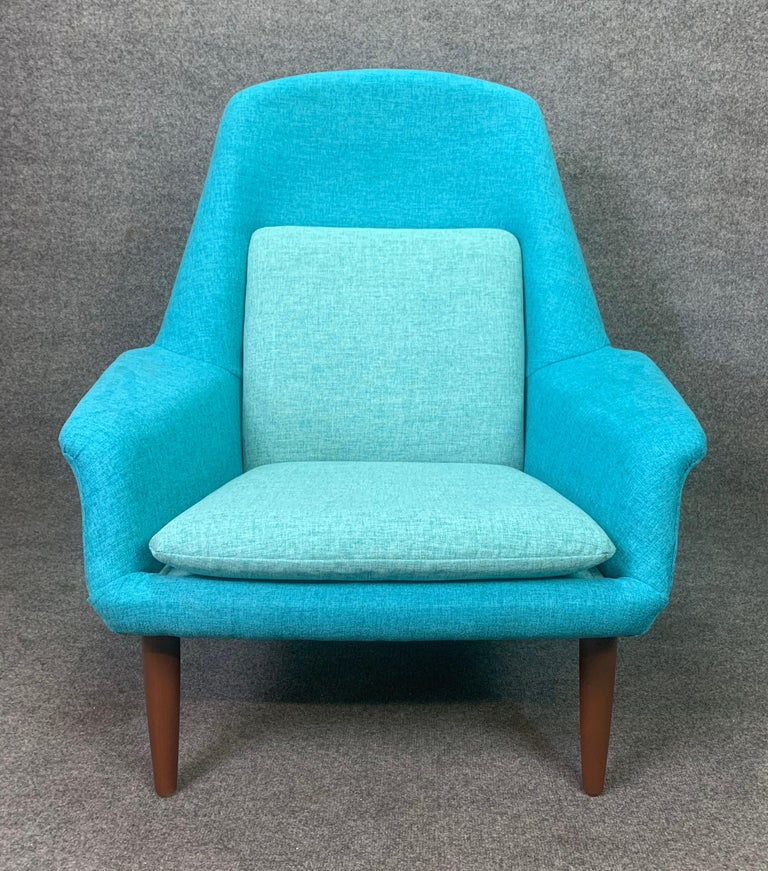 Vintage Scandinavian Mid-Century Modern Lounge Chair by Broderna Anderssons For Sale 2