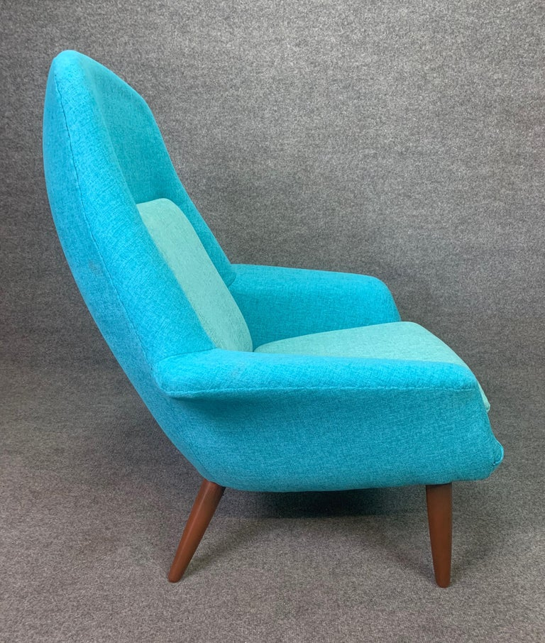 Swedish Vintage Scandinavian Mid-Century Modern Lounge Chair by Broderna Anderssons For Sale