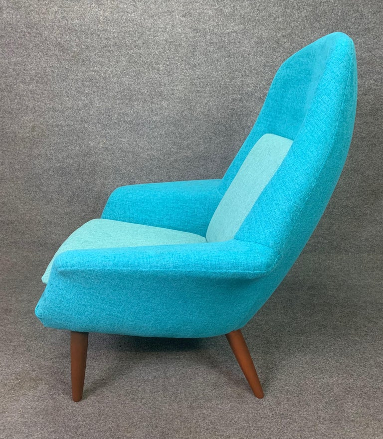 Mid-20th Century Vintage Scandinavian Mid-Century Modern Lounge Chair by Broderna Anderssons For Sale