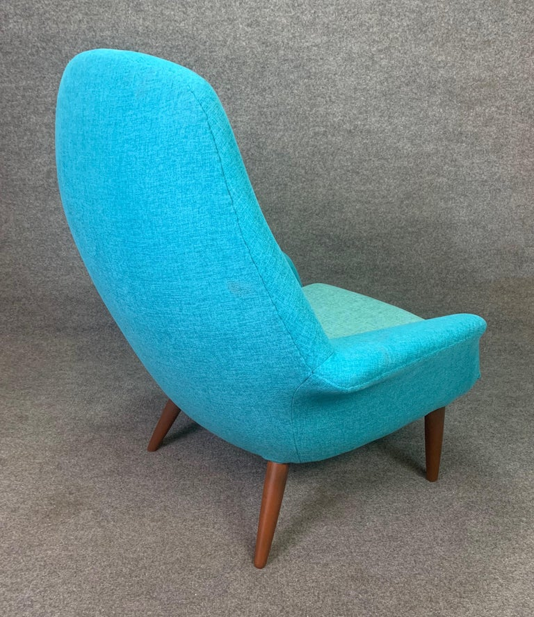 Vintage Scandinavian Mid-Century Modern Lounge Chair by Broderna Anderssons For Sale 1