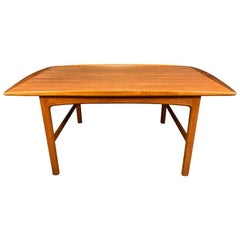 "Vintage Scandinavian Mid Century Teak ""Frisco"" Coffee Table by Folke Ohlsson"