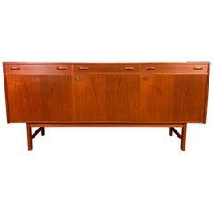 Vintage Scandinavian Midcentury Teak Credenza by Tage Olofsson for Ulferts