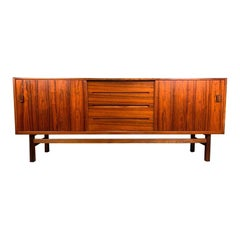 "Vintage Scandinavian Modern Rosewood ""Arild"" Credenza by Nils Jonsson for Troeds"